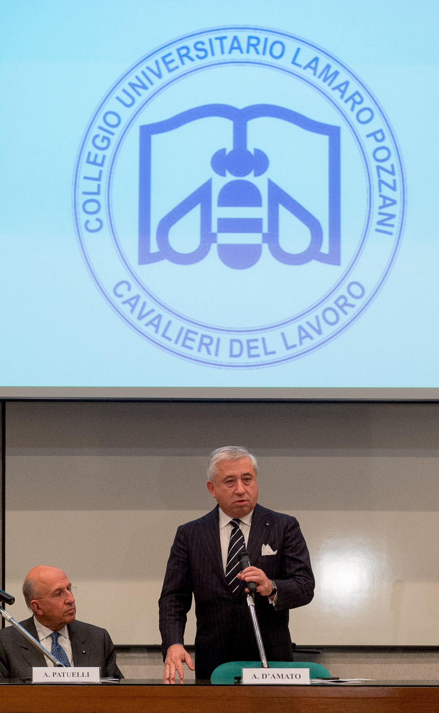 Collegio - D'Amato all'inaugurazione a.a. 2015