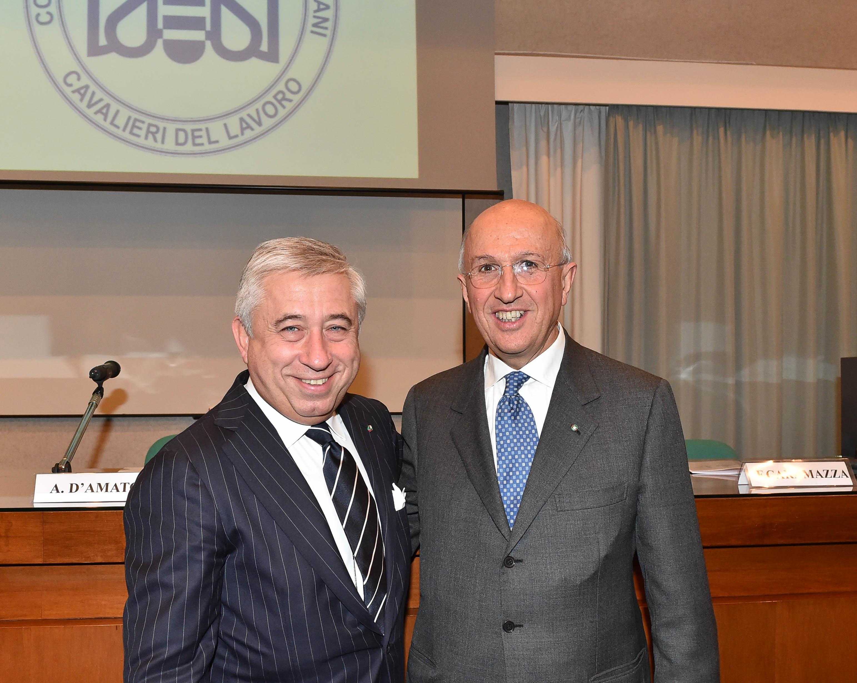 Collegio - Inaugurazione a.a. 2015 D'Amato e Patuelli
