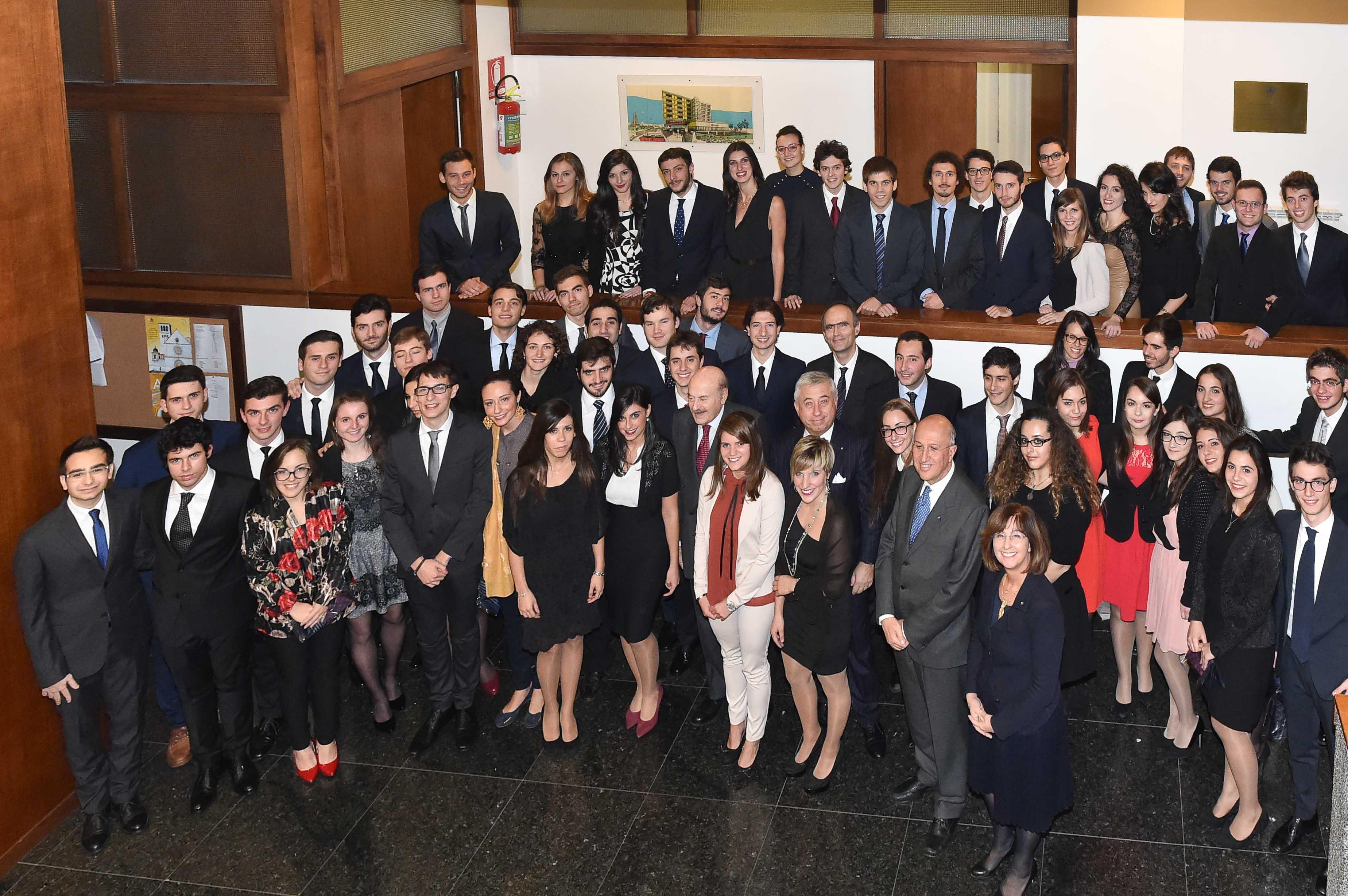 Collegio - Inaugurazione a.a. 2015 - Le matricole