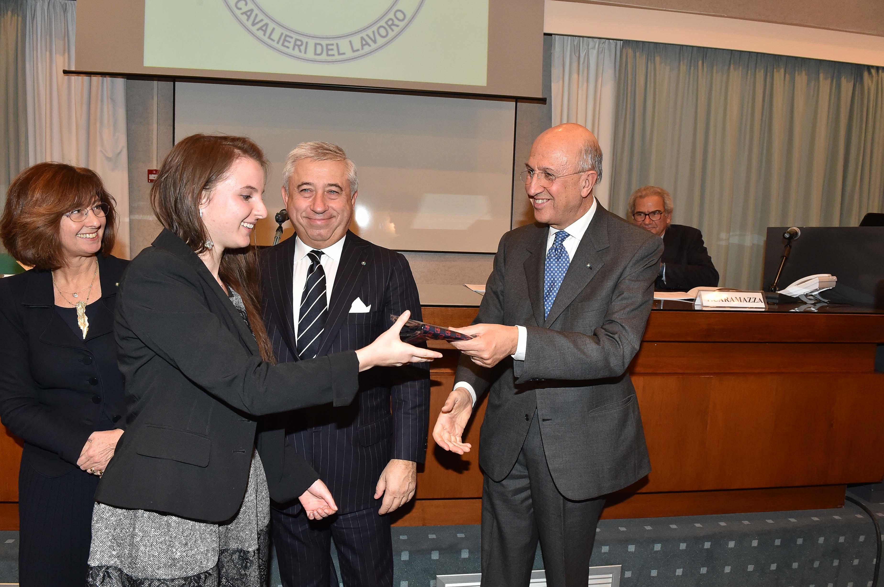 Collegio - Inaugurazione a.a. 2015 da six, Gilli, Zanandrea, D'Amato, Patuelli