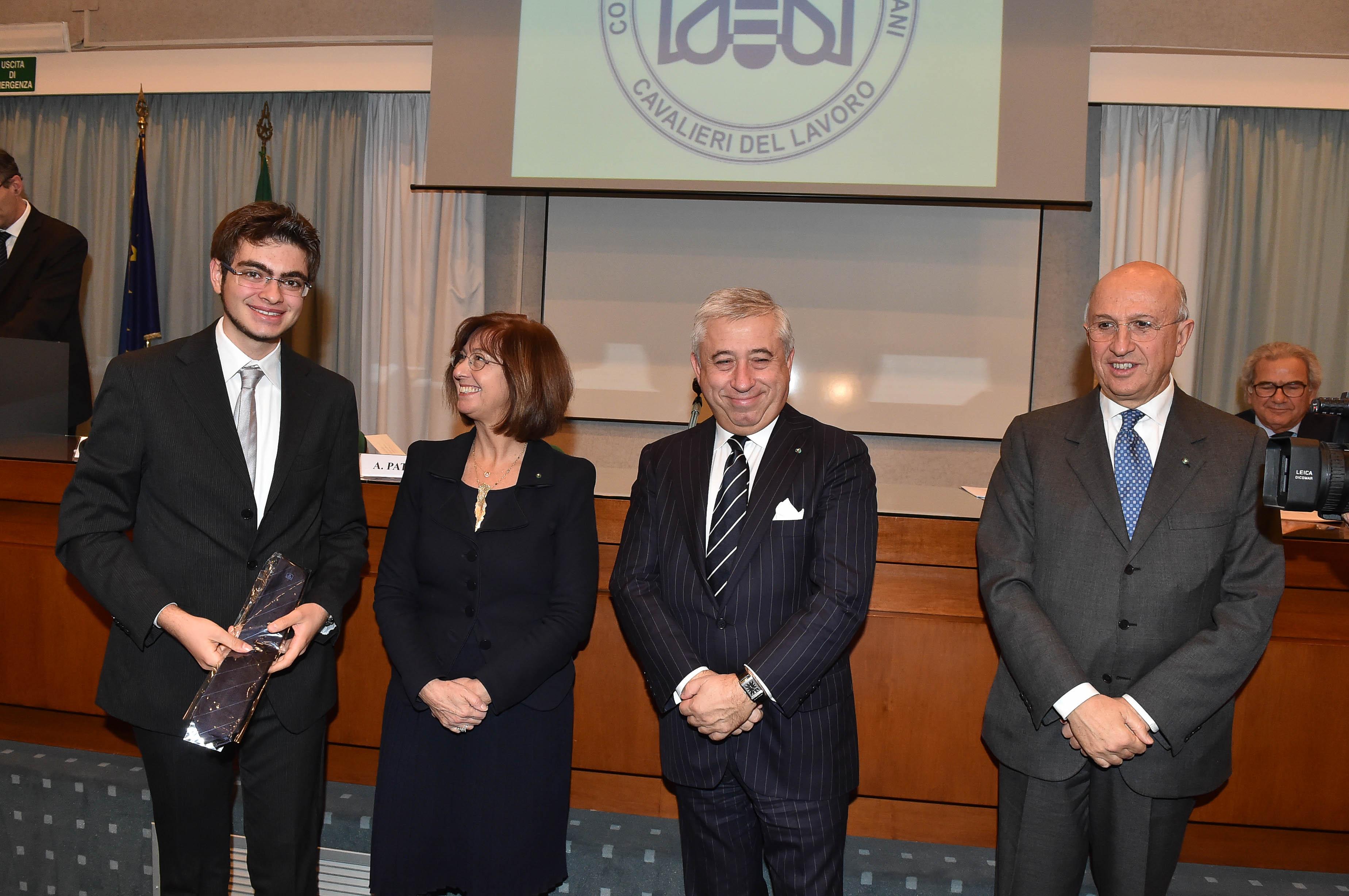 Collegio Inaugurazione a.a. 2015 da six, Valente, Gilli, D'Amato, Patuelli