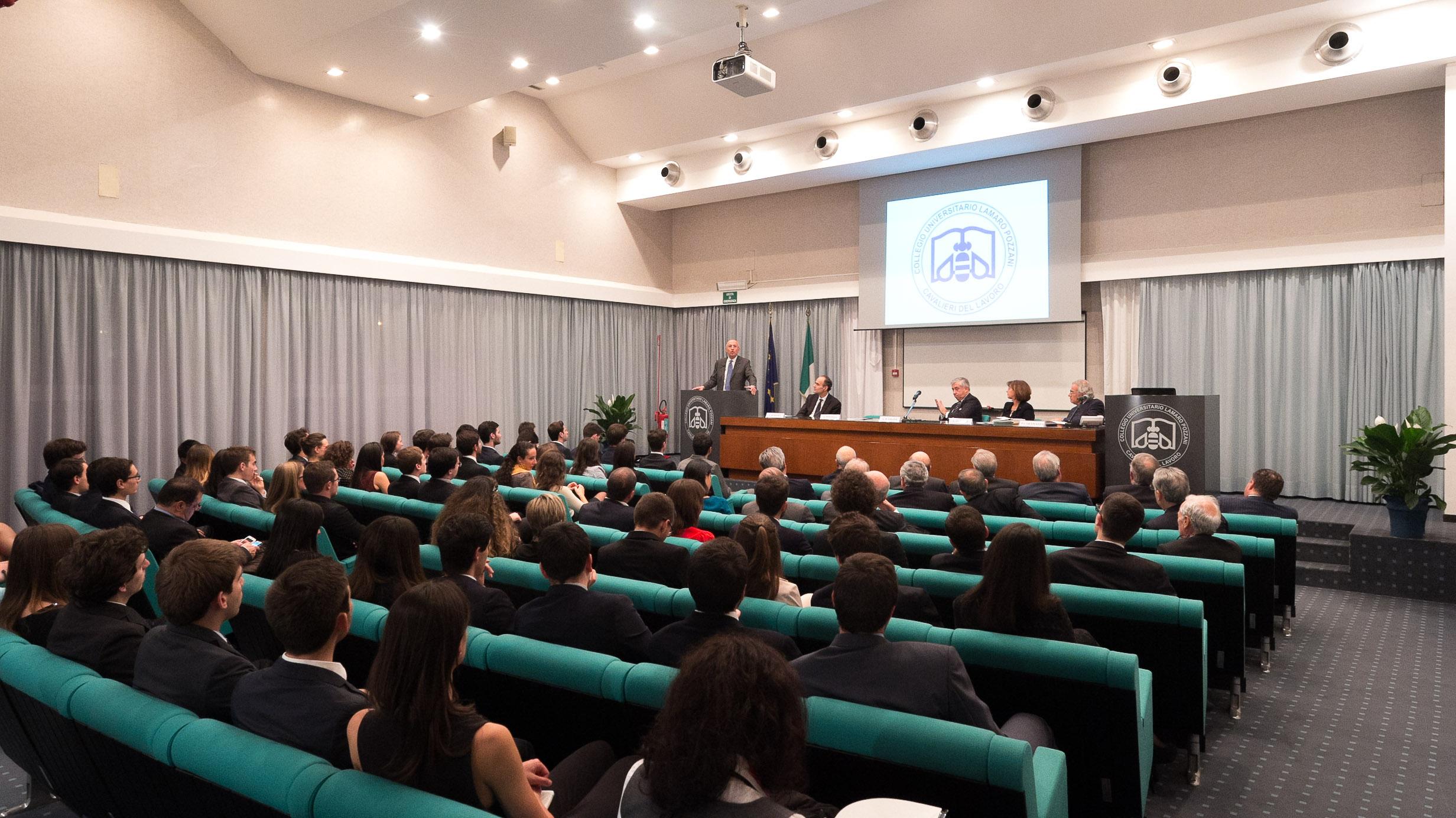 Collegio - Inaugurazione a.a. 2015 - la sala