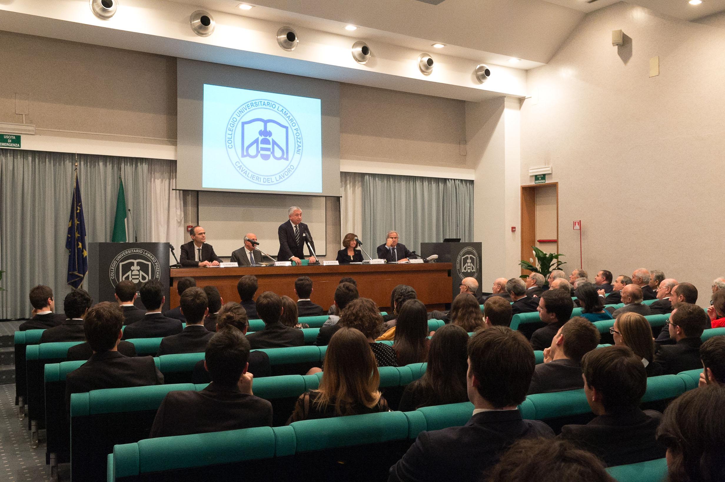 Collegio - Inaugurazione a.a. 2015