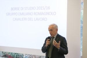 Il Presidente del Gruppo Emiliano Romagnolo Cav. Lav. Stefano Possati