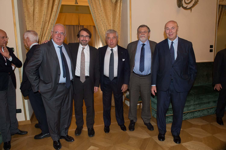 Sebastiano Maffettone, David Held, Antonio D'Amato, Angelo Panebianco, Paolo Mieli