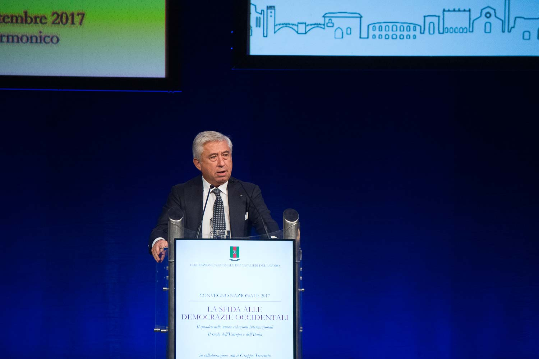 Antonio D'Amato, Presidente Federazione Nazionale Cavalieri del Lavoro