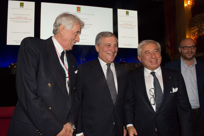 Guido Finato Martinati, Antonio Tajani, Antonio D'Amato