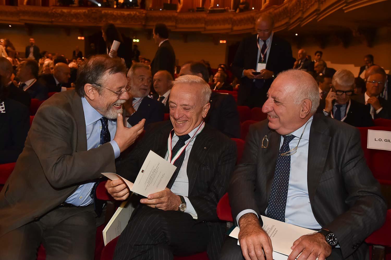 Angelo Panebianco, Stefano Possati, Sebastiano Maffettone