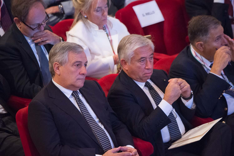 Antonio Tajani, Antonio D'Amato, Giampaolo Galli