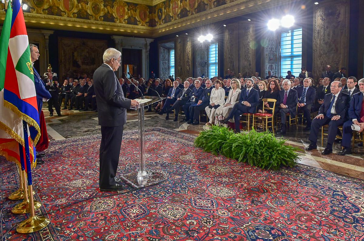 Sergio Mattarella, Presidente della Repubblica - Quirinale, 1 maggio 2018