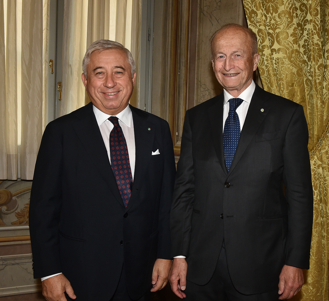 Antonio D'Amato e Maurizio Sella