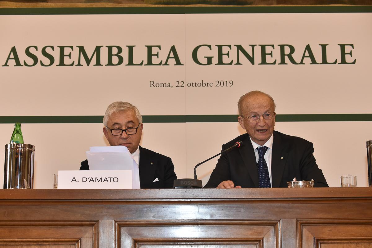 Maurizio Sella e Antonio D'Amato