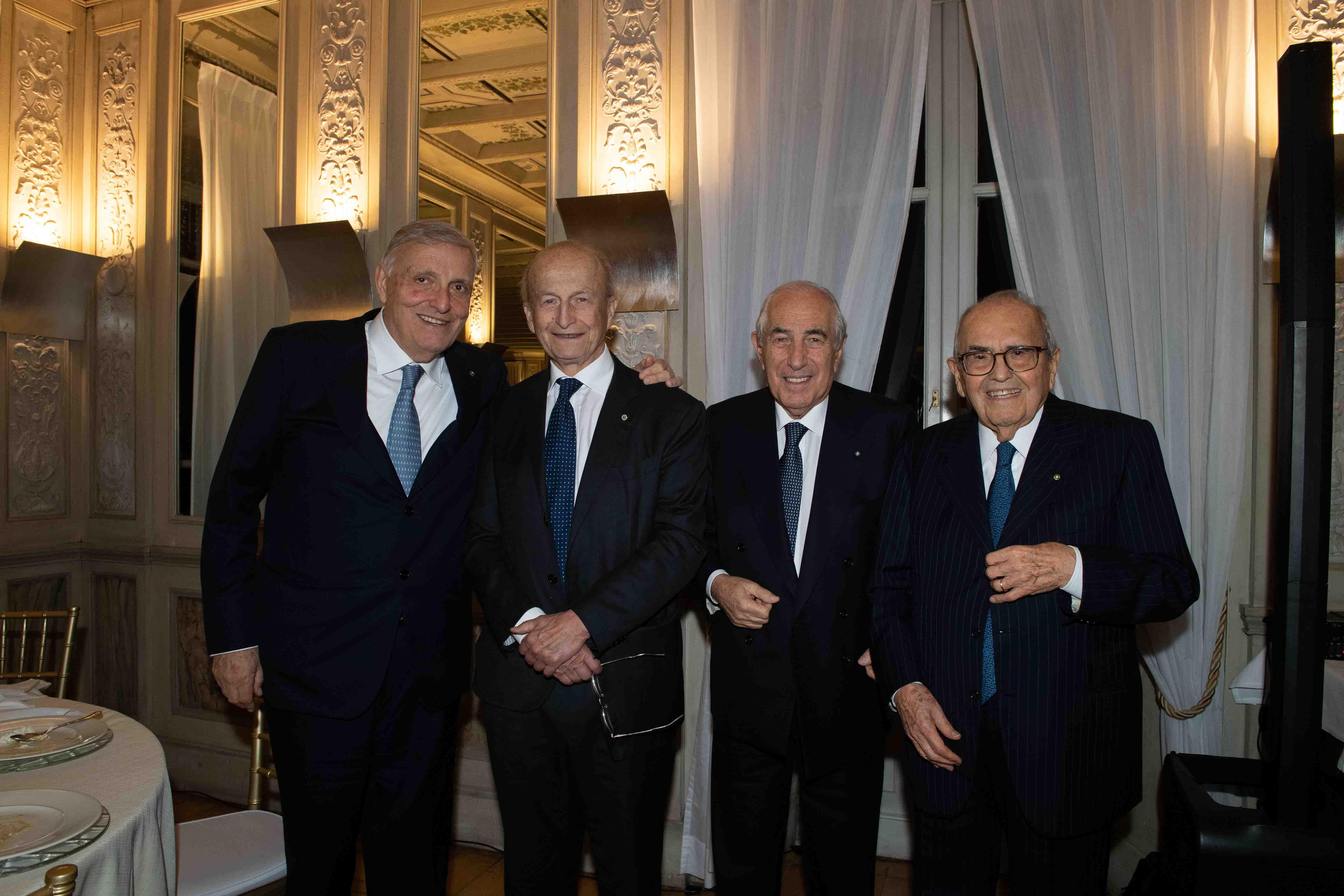 Gruppo Centrale, cena di Natale (Roma - Casina Valadier, 12 dicembre 2019)