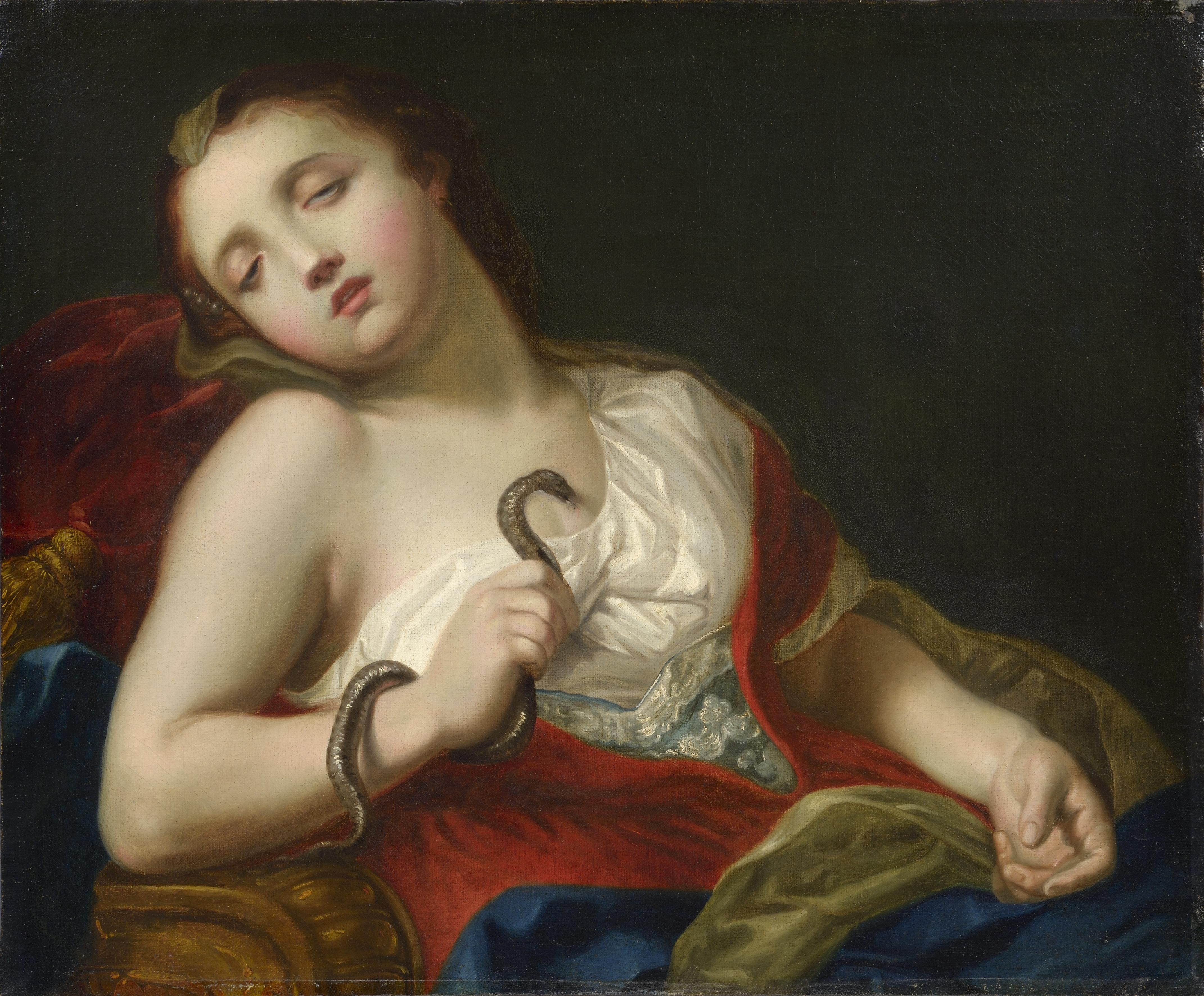 Giambettino Cignaroli_Cleopatra, 1770 circa