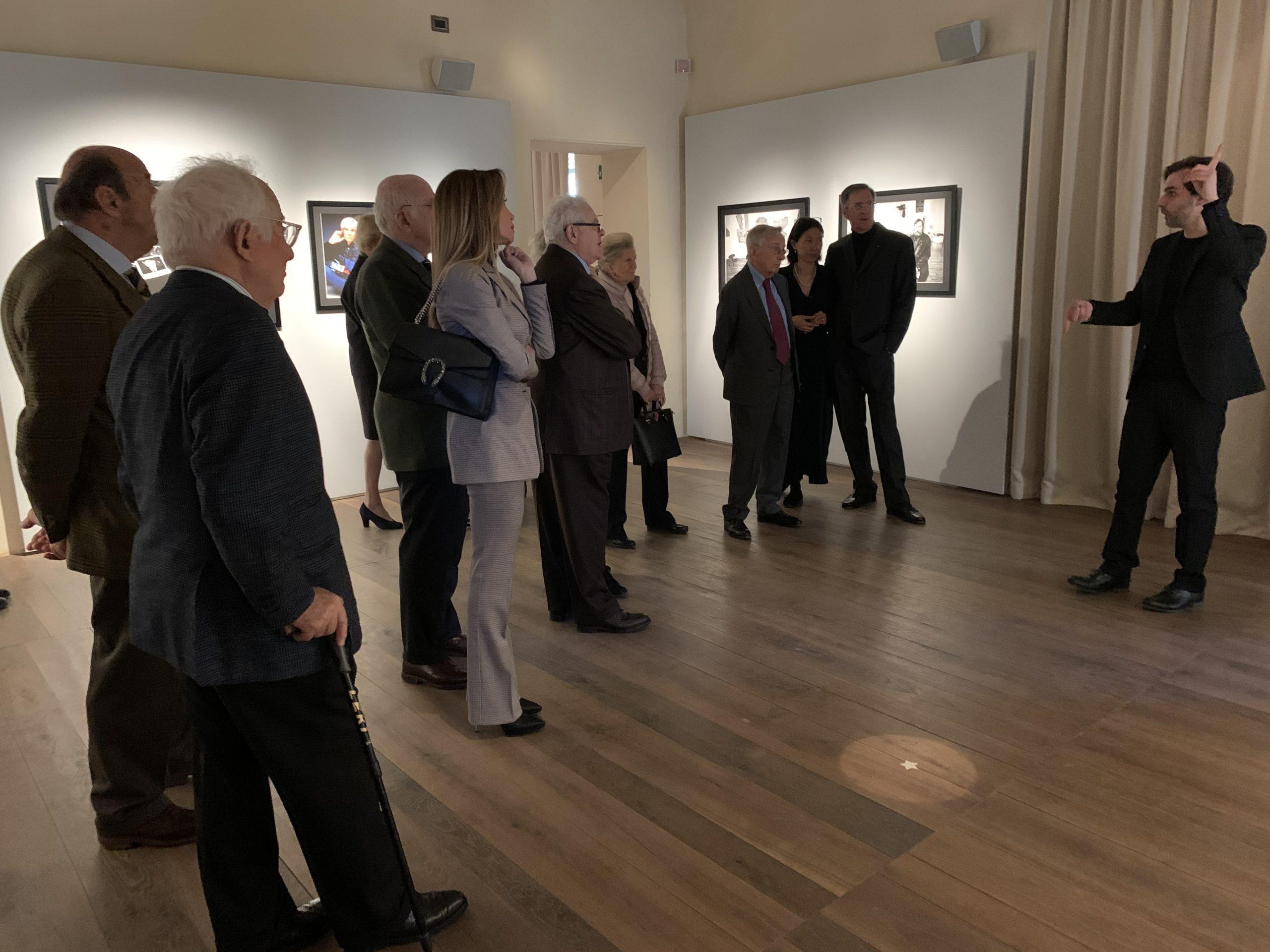 Visita dei Cavalieri del Lavoro Piemontesi alla mostra
