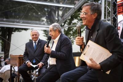 Marco Boglione e Gianni Ghio intervistano Giovanni Minoli