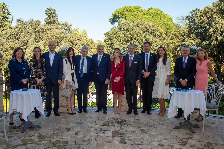 Gruppo Centrale dei Cavalieri del Lavoro _ Casina Valadier, 8 ottobre 2020