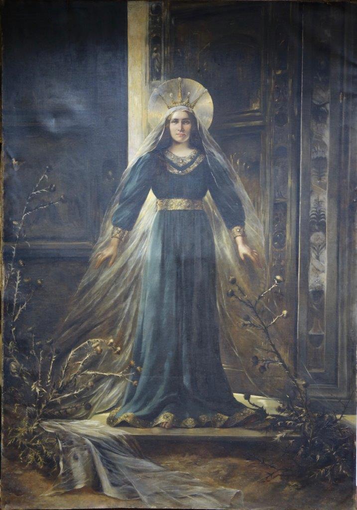 Madonna del cardo - di Emma Regis - circa 1920