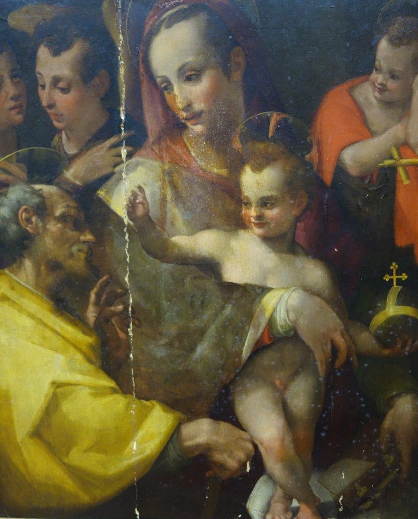 Sacra Famiglia di Carlo Portelli - 1510 – 1574