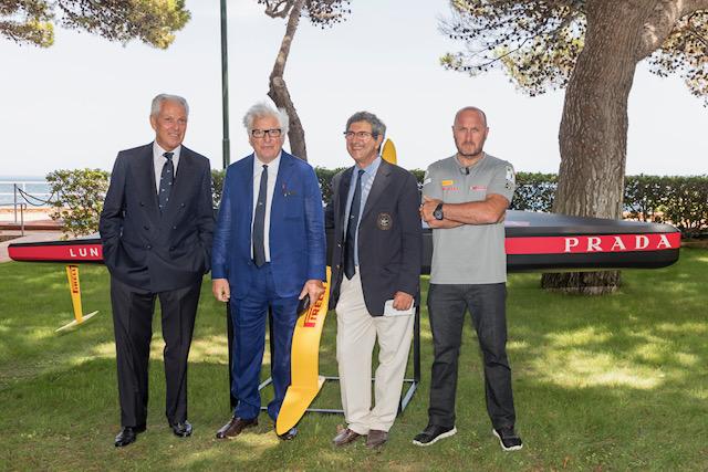 LUNA ROSSA Team Presentation 2019